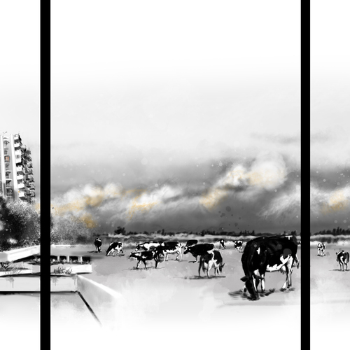 Cows And Corn To Cities by raschomon