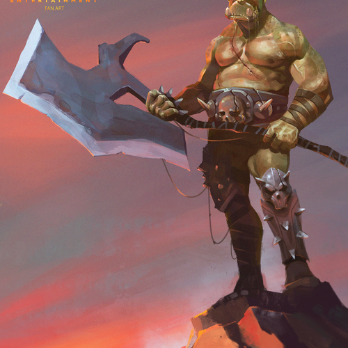 Orc Concept by biazotto