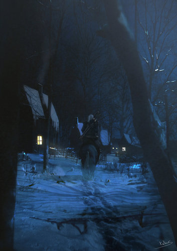 Display jumbo geralt where it s the snow    by kalberoos d712zuw