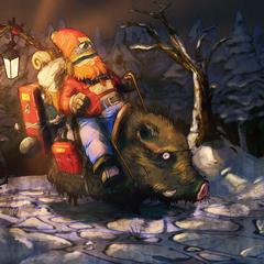 dwarf rider night by chemamansilla