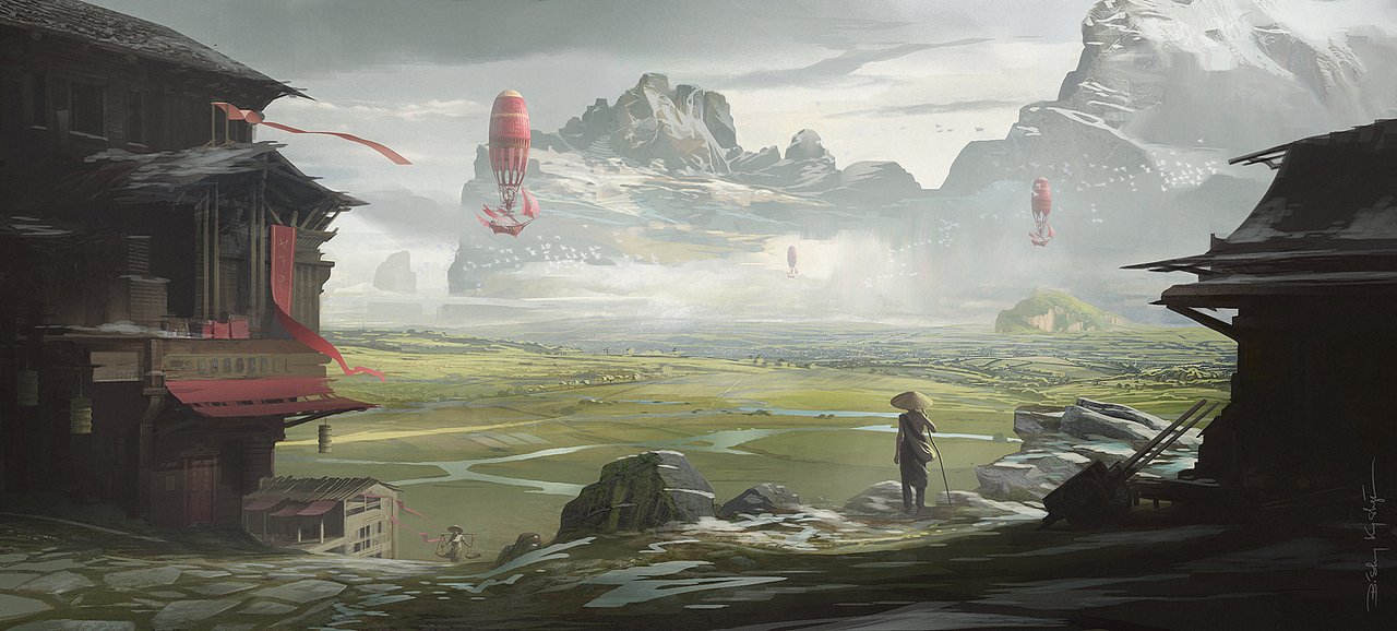 new land by krystian
