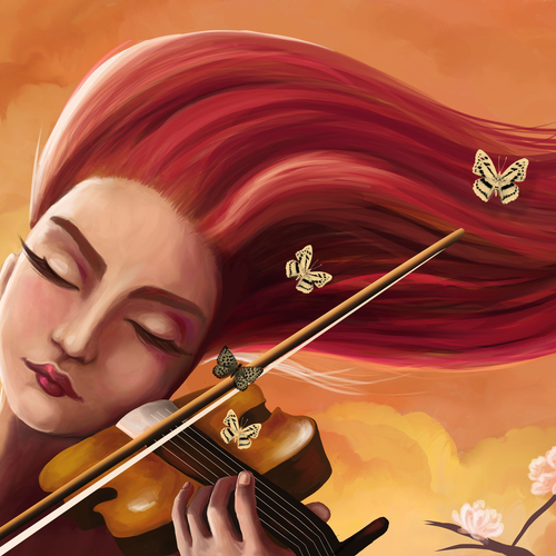 Violin by neginarmon