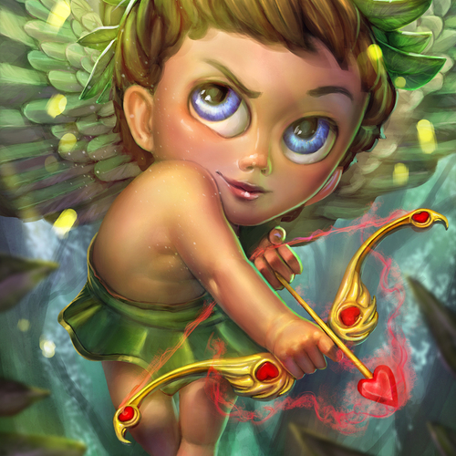 Thumb jumbo cupid wood nymph smite skin by ptimm