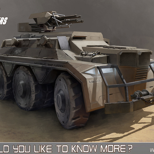 Starship Troopers Apc by alexson
