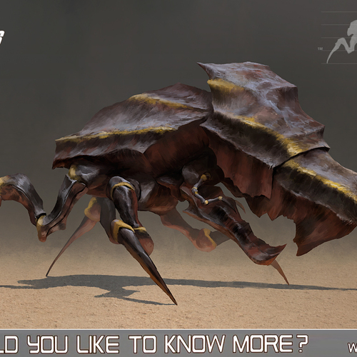 Starship Troopers Tank Bug by alexson