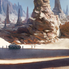 starship troopers environment 1 by alexson
