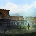 burning village by andresutherland