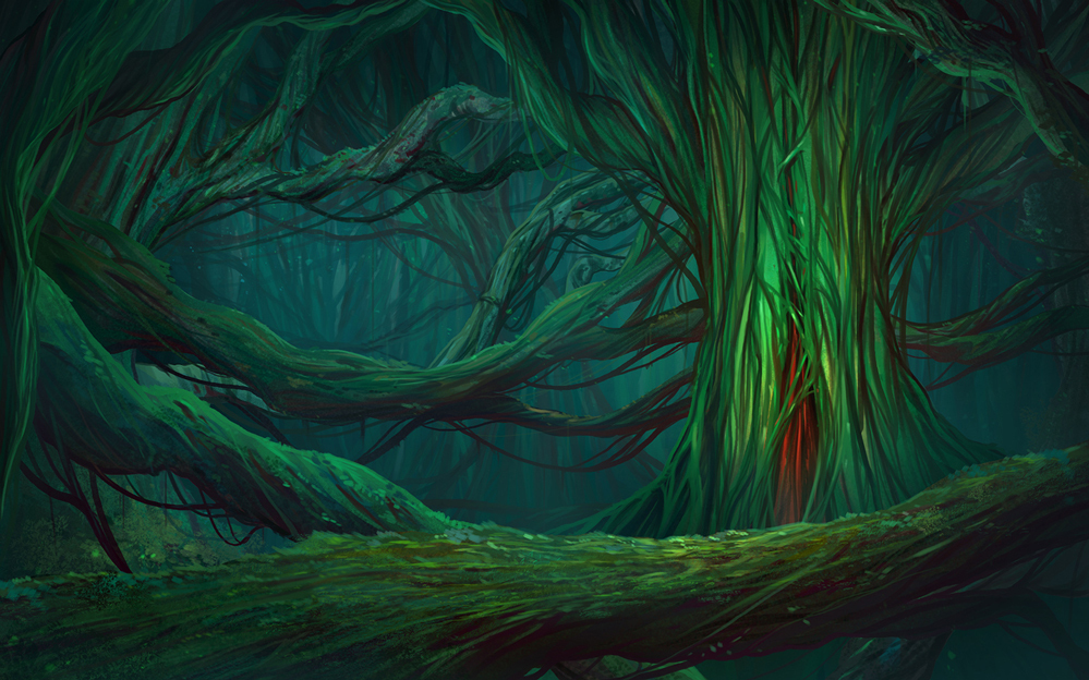 heart of the forest by andresutherland