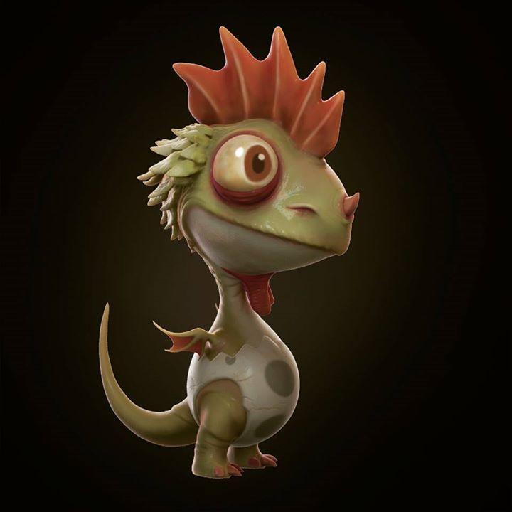 chicken dragon by joel.velasco