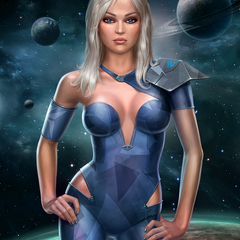 space blonde by lobzov
