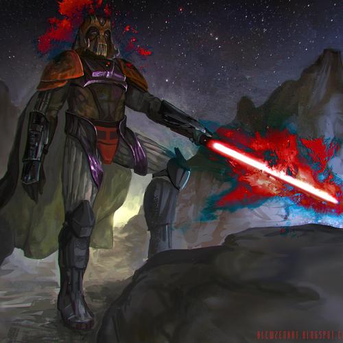 Darth Vader   Redesign by blewzen