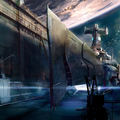 space shipyard by silberius