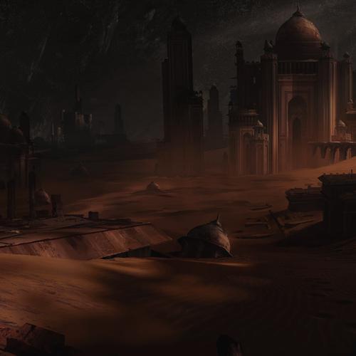 Desert City Ruins by waqas