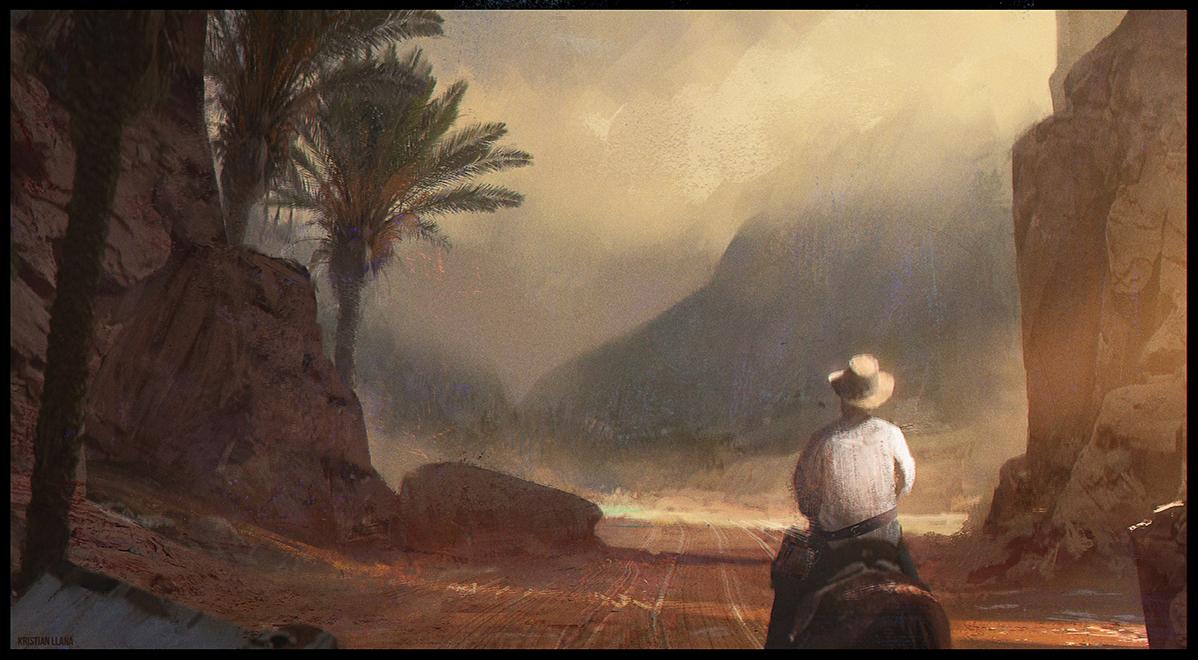 through valley by kristianllana