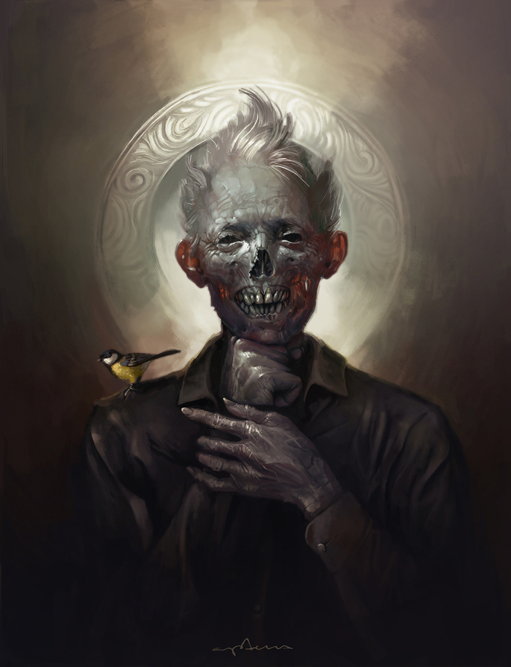zombie with a tit by apterus
