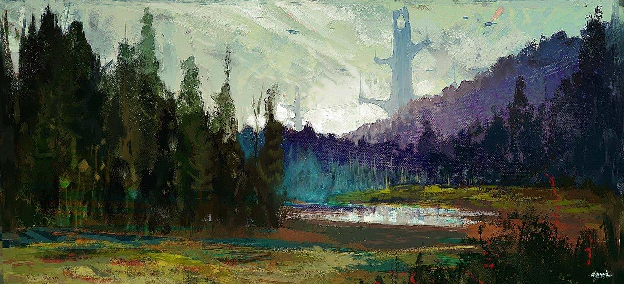 landscape 1 by rawi