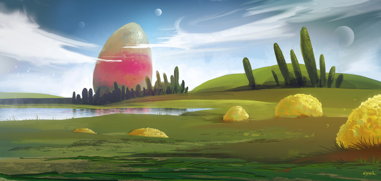 the egg by rawi