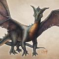 black dragon by aishwaaryanant
