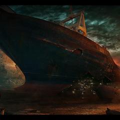 shipwreck by macdrab