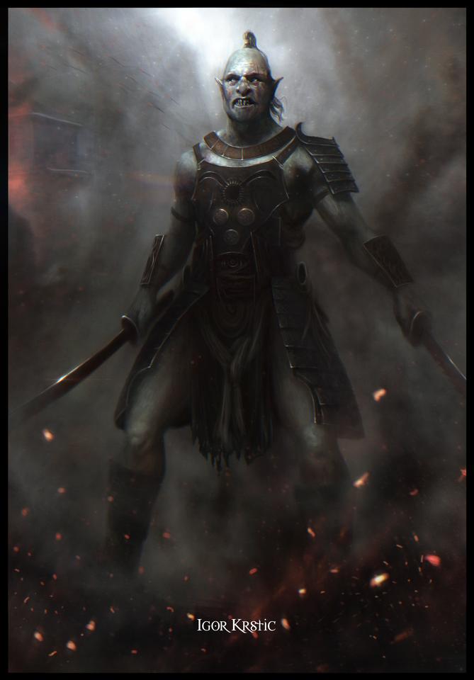 orc samurai by atar87
