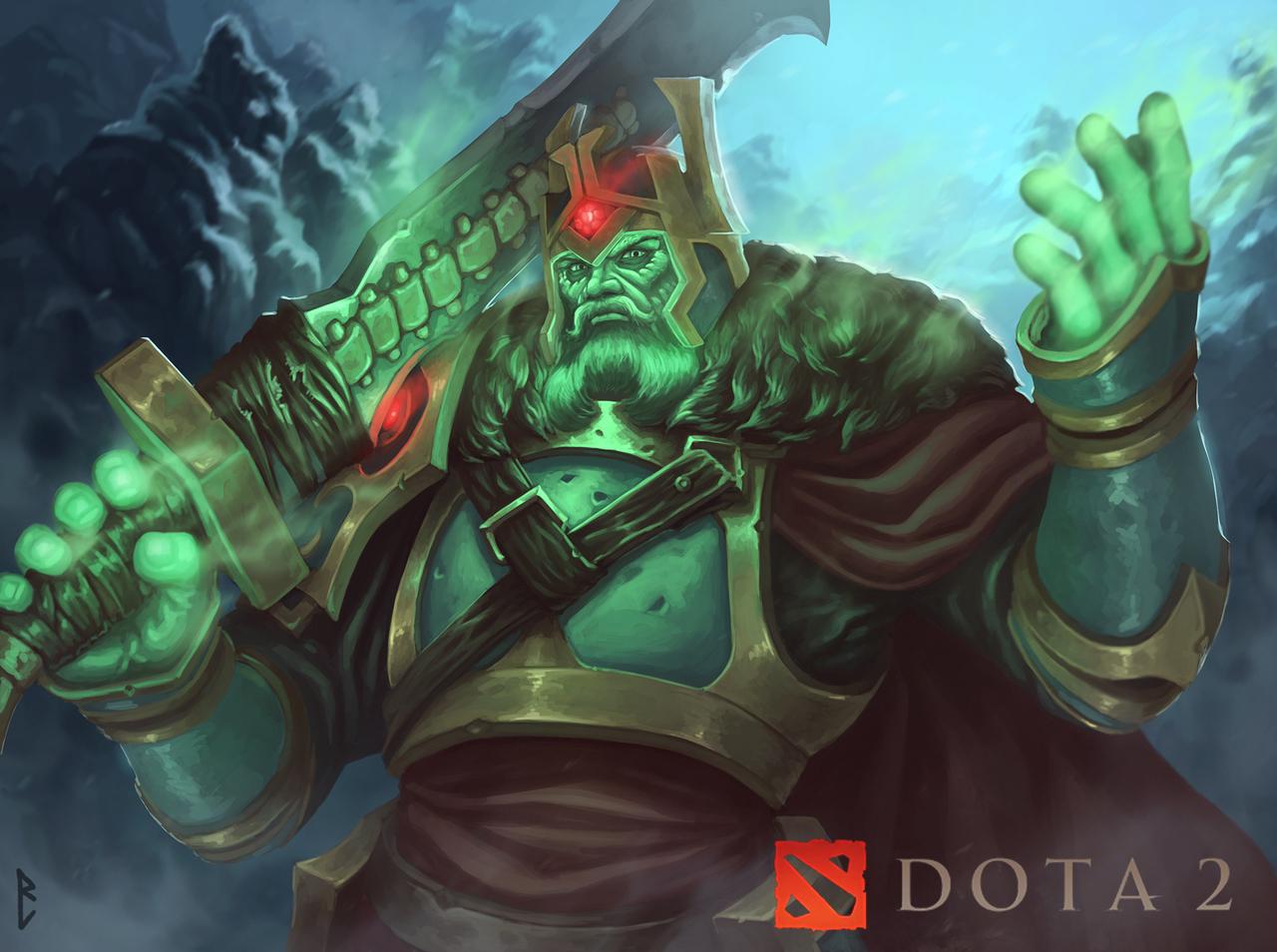 wraith king dota by artdeepmind
