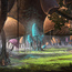 mushroom glade by chriskarbach