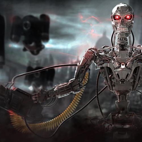 Terminator T 800 by hassamjafri