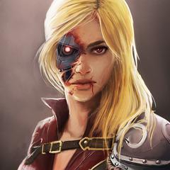 medieval terminator girl