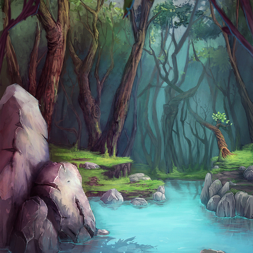 Into The Forest by kewai