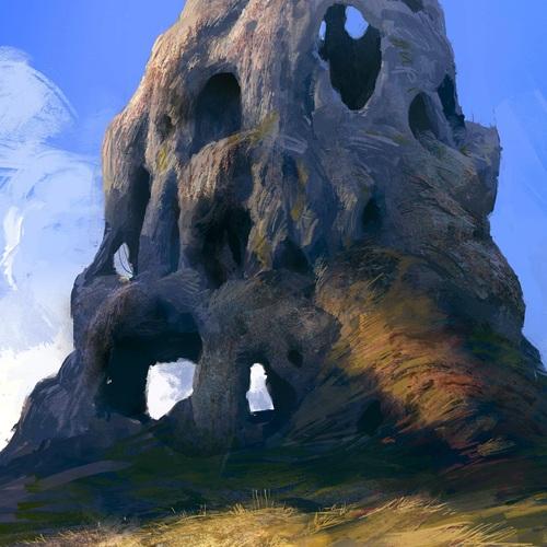 The Hollow Pillar by victor_hugo_harmatiuk