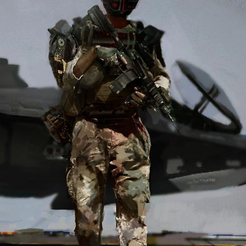 Soldier by patfix