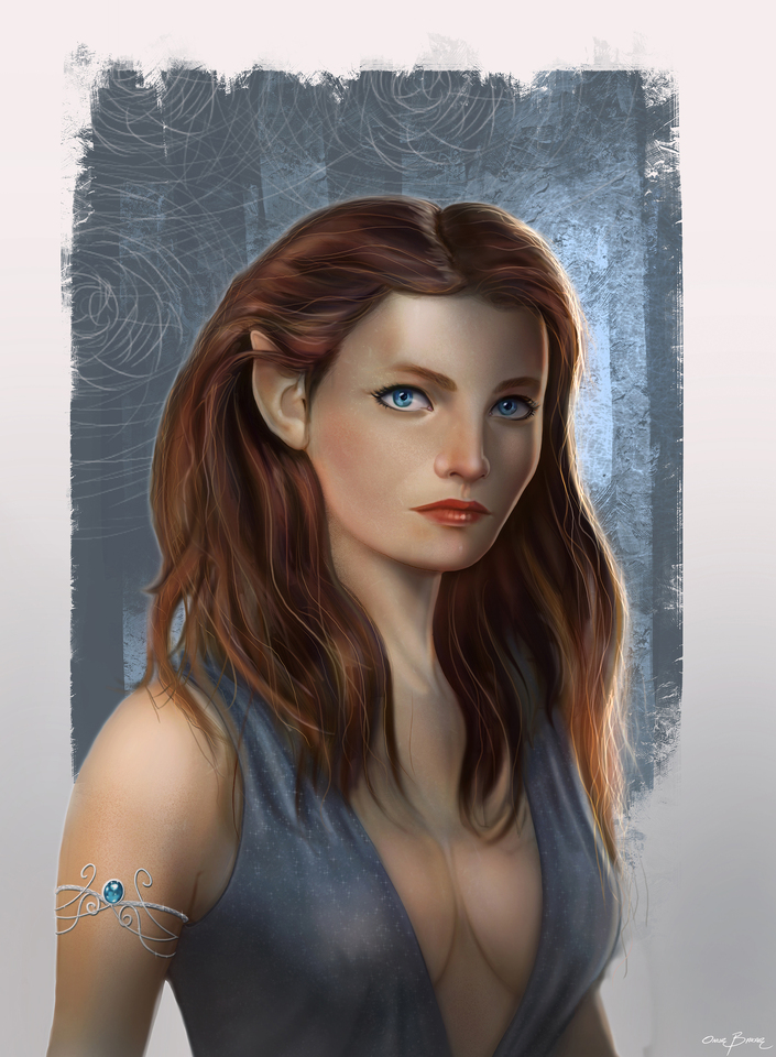 elven princess by onurbakar