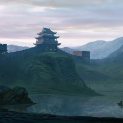 chinese wall by chanderlieve