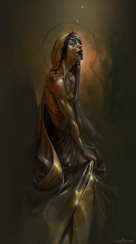 zombie saint by apterus