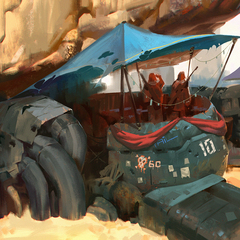 rust buckets by al_jerek