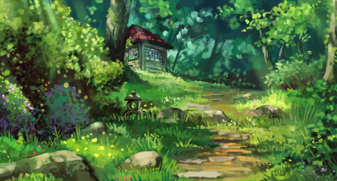 studio ghibli study by satyaki