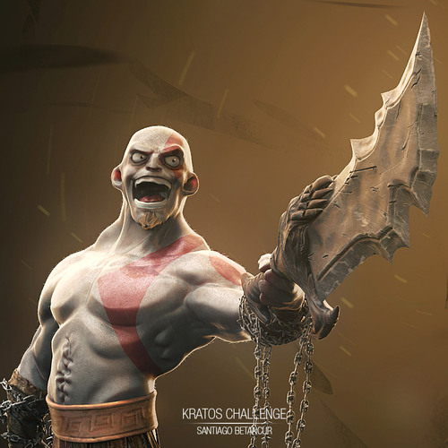 Kratos Detail 02 by santiago_betancur