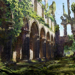 abandoned cathedral ii by klauswittmann
