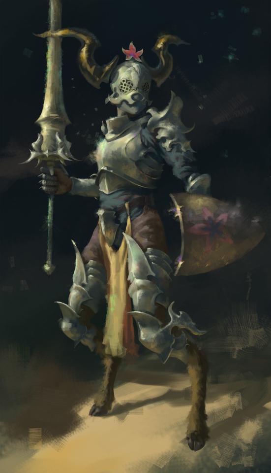 satyr by royal