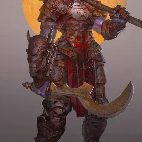 The Warrior by giby