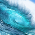 wave study by catherinesteuer