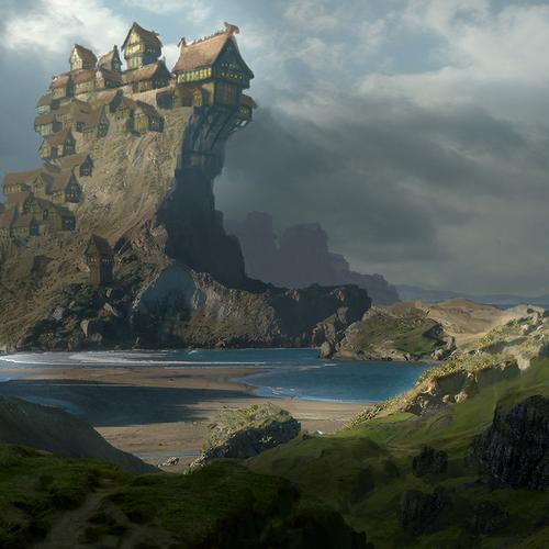 Viking Metropolis by paintangel