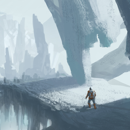 Iceplanet by paintangel