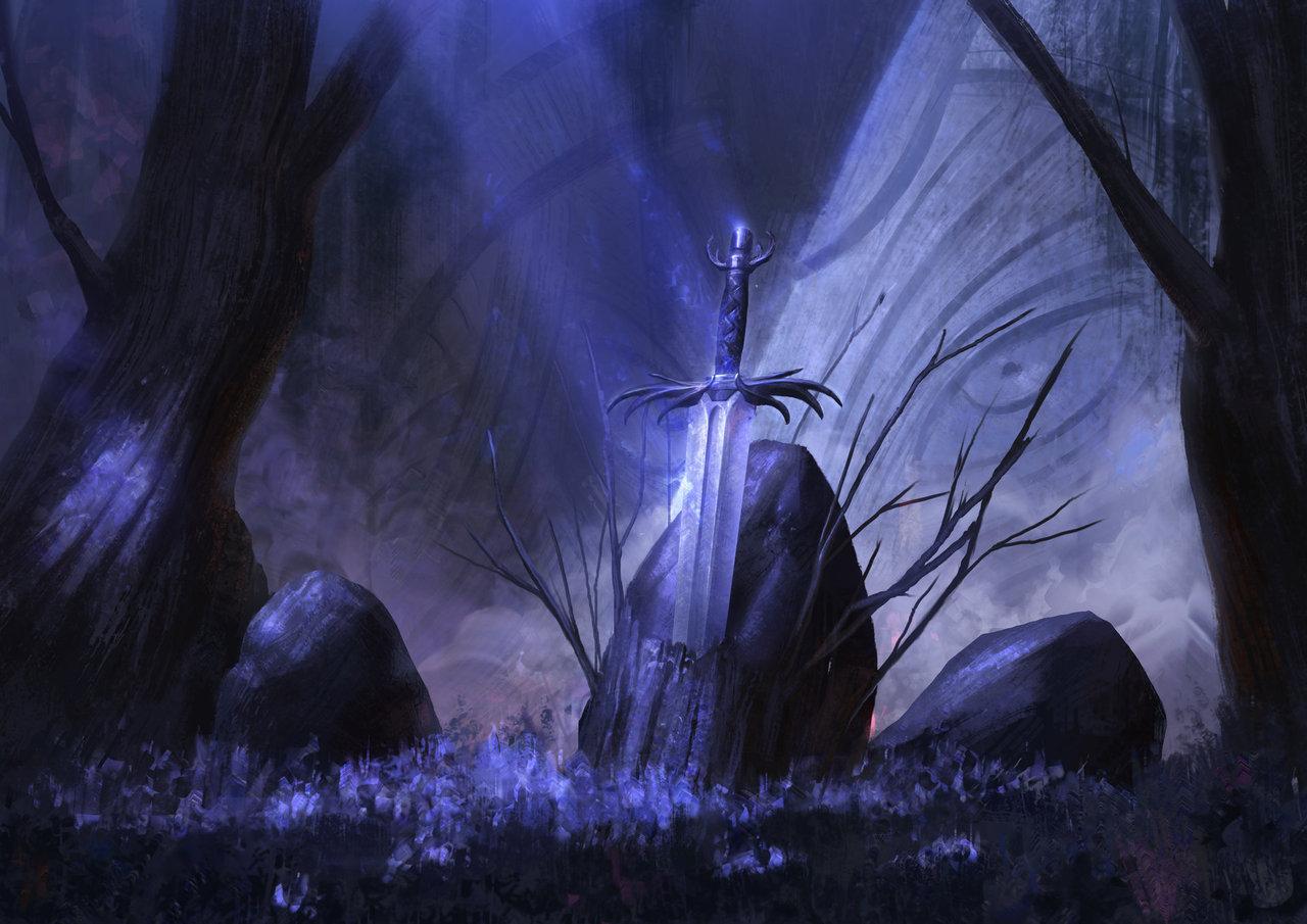 sword at midnight by mischeviouslittleelf