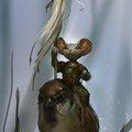 sparrow rider by mischeviouslittleelf