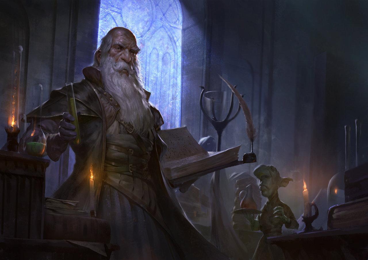 alchemists workshop by mischeviouslittleelf