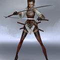 late night sword lady by mischeviouslittleelf