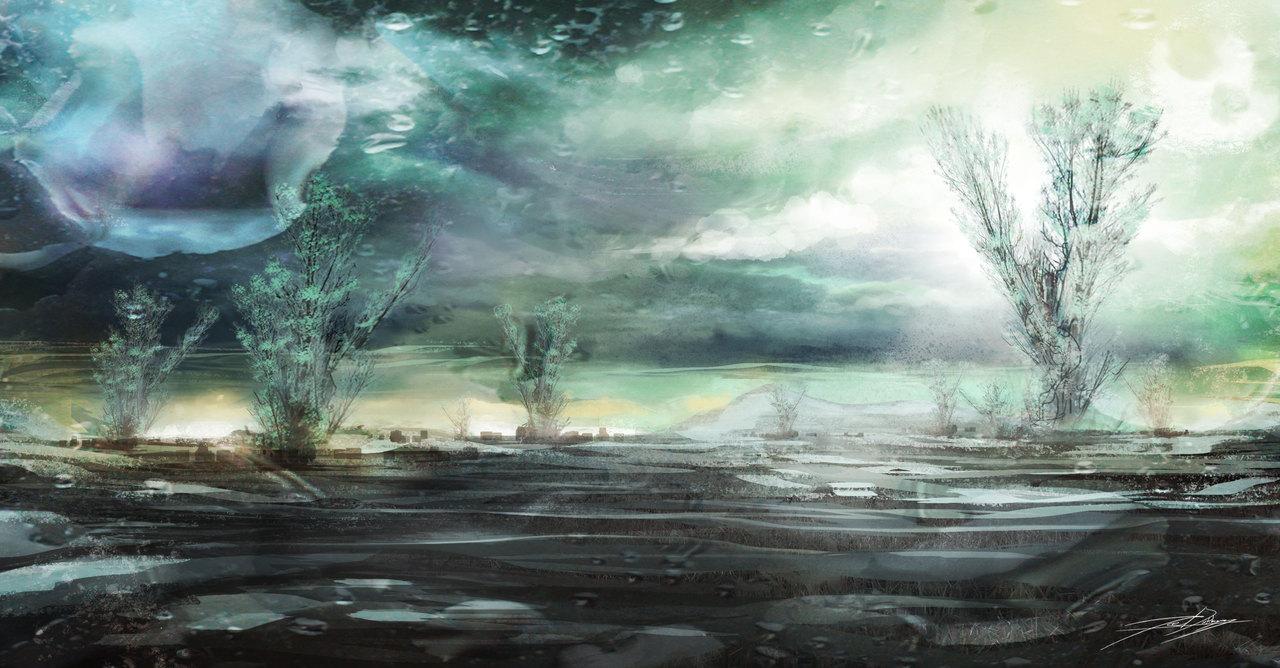 boreal planetscape by joedarkbugg