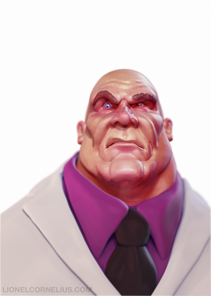 wilson fisk aka kingpin by ljsketch