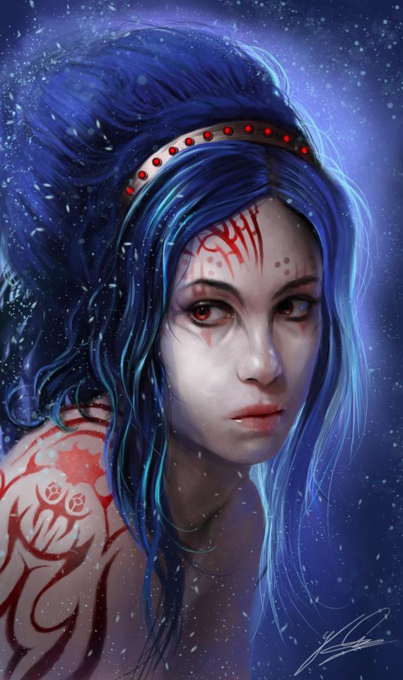 sci fi girl by jay_lockwood_carpenter